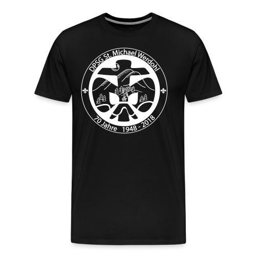Logo Aufnaeher Jubi W - Männer Premium T-Shirt