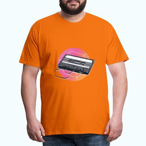 80s Vintage Cassette - Men's Premium T-Shirt