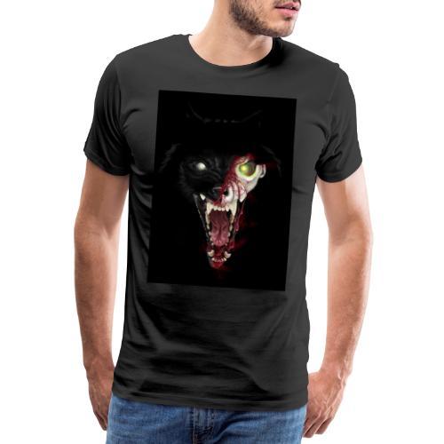 Zombie Wolf - T-shirt Premium Homme