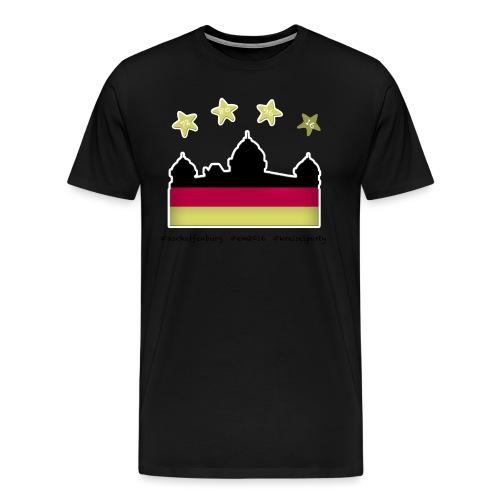 Fanshirt__schwarz - Männer Premium T-Shirt