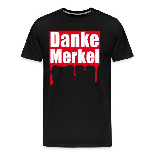 Danke Merkel - Männer Premium T-Shirt