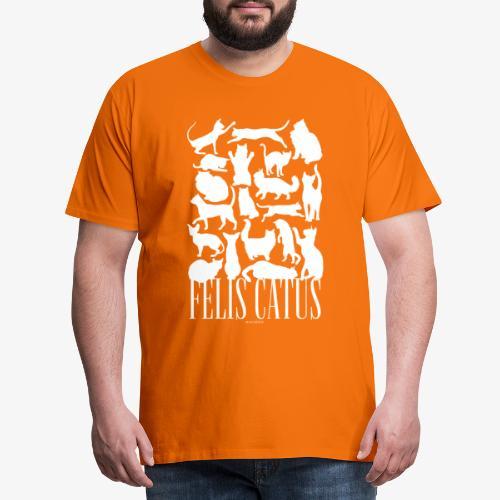 Felis Catus - Miesten premium t-paita