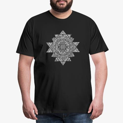 Sri Yantra Sacred Geometry - Men's Premium T-Shirt