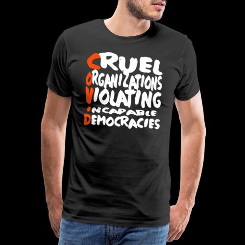 covid - Männer Premium T-Shirt