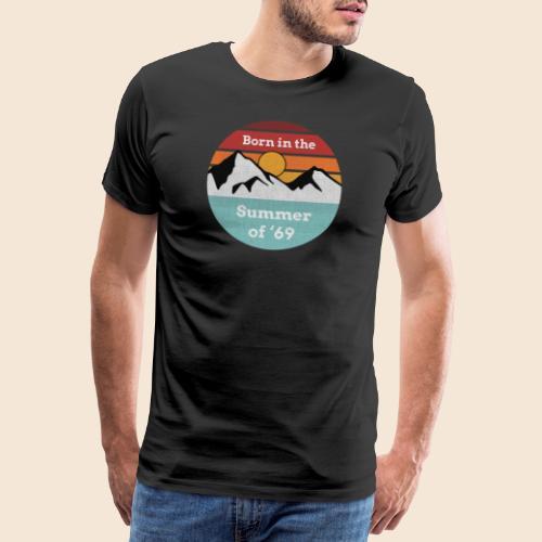 50. Geburtstag Summer of 69 Geschenk T-Shirt - Männer Premium T-Shirt