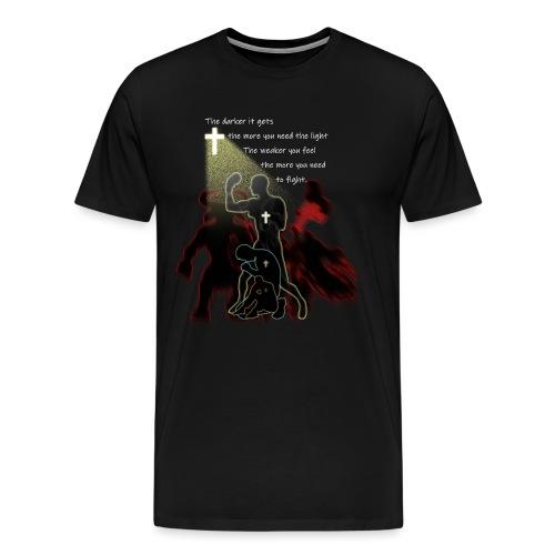 darklightweakfight3 - Men's Premium T-Shirt