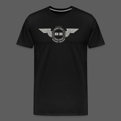 RR Circle With Wings T Pr - Men's Premium T-Shirt