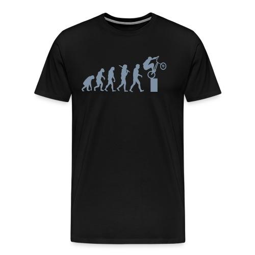 Bike Trial Evolution - Men's Premium T-Shirt