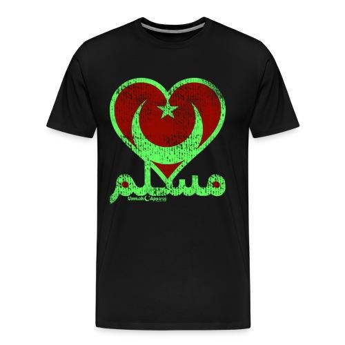 Muslim Heart - Men's Premium T-Shirt