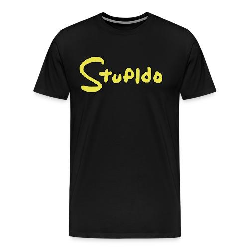 Stupido Logo / DAS Geschenk für Fans - Männer Premium T-Shirt