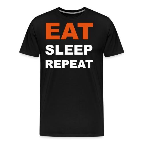 EAT_SLEEP_REPEAT - Männer Premium T-Shirt