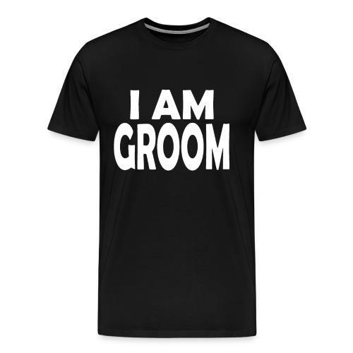 Ich bin Bräutigam JGA Junggesellenabschied - Männer Premium T-Shirt