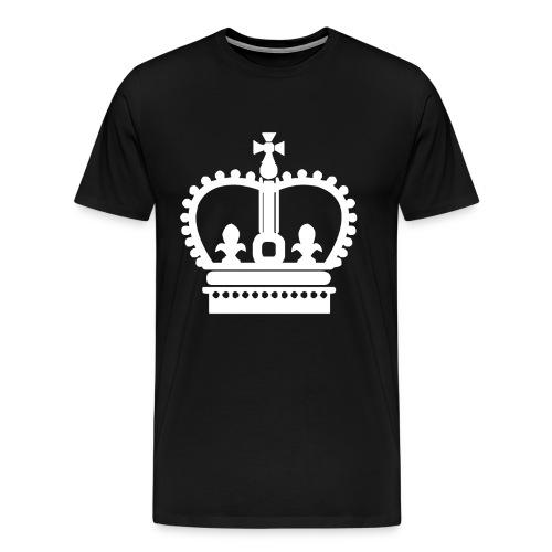 Krone Symbol König Königin Kaiser - Männer Premium T-Shirt