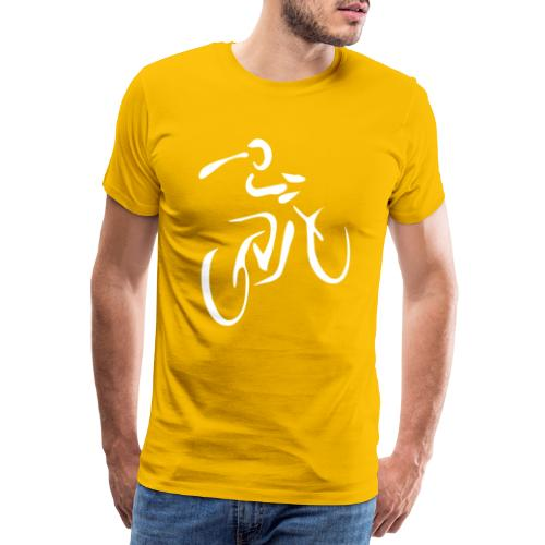 Fahrrad Fahrradfahren Fahrer Rad Fahrradfahrer - Männer Premium T-Shirt