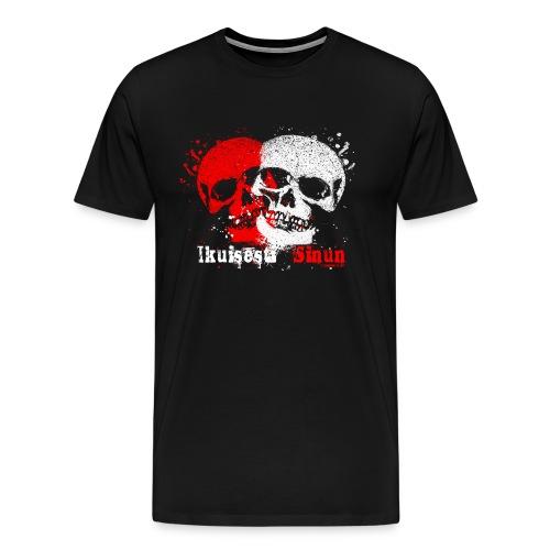 Ikuisesti Sinun, rakastavaiset pääkallotuotteet - Miesten premium t-paita