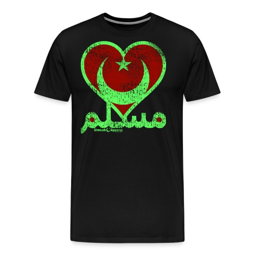 Muslim Heart - Men's Premium T-Shirt