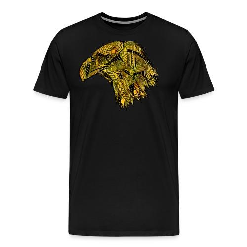 Gul ørn - Premium T-skjorte for menn