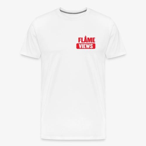 flame tee black png - Maglietta Premium da uomo