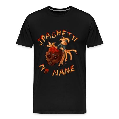Spaghetti No Name pin - Men's Premium T-Shirt