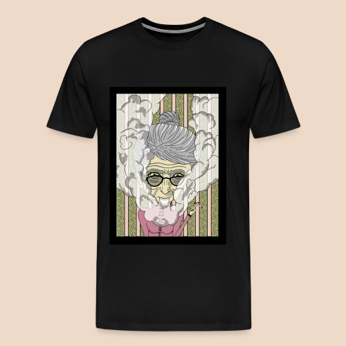 Dame Fumeuse - T-shirt Premium Homme