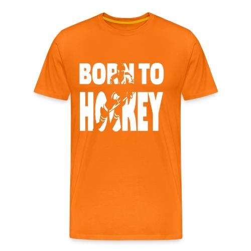 Born To Hockey - Männer Premium T-Shirt