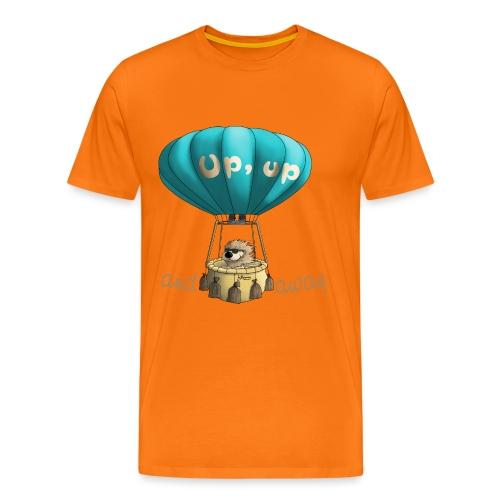 Up up and away - Auf und davon - Männer Premium T-Shirt