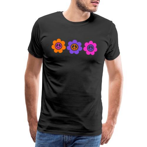 Power Flowers Of Peace Trilogy 1 - Männer Premium T-Shirt