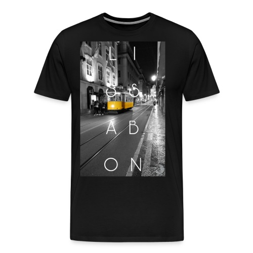 CITY Collection | Lissabon - Männer Premium T-Shirt