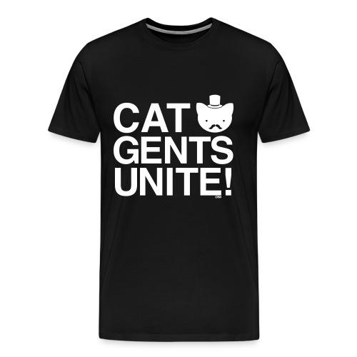 Cat Gents Unite - Men's Premium T-Shirt