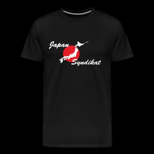 Japan-Syndikat Logo white - Männer Premium T-Shirt