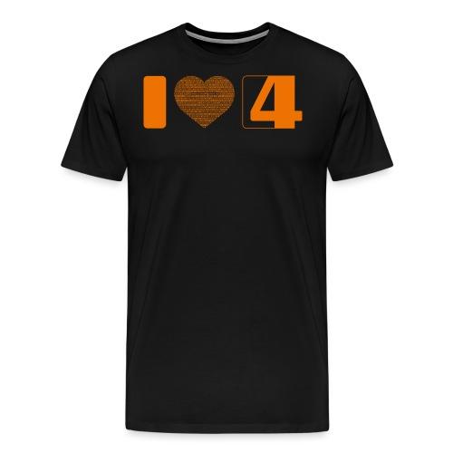 iloves4g version201309 - Männer Premium T-Shirt