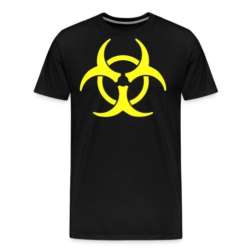 VORSICHT png - Männer Premium T-Shirt