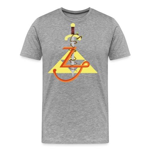 LEGEND OF 1 png - T-shirt Premium Homme