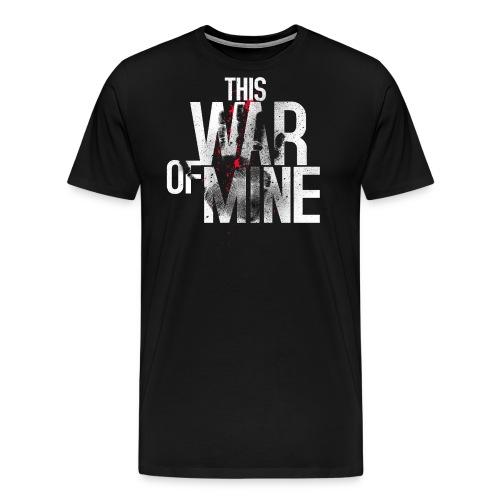 This War of Mine Logo - Men's Premium T-Shirt