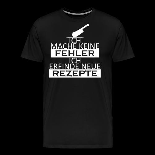 Keine Fehler - Männer Premium T-Shirt