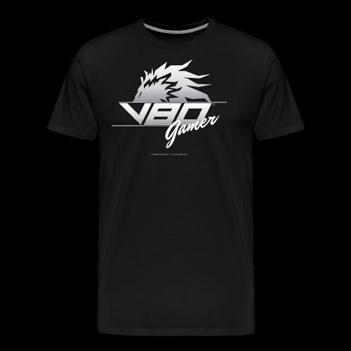logo lionheartv80 chiaro trasparente - Maglietta Premium da uomo