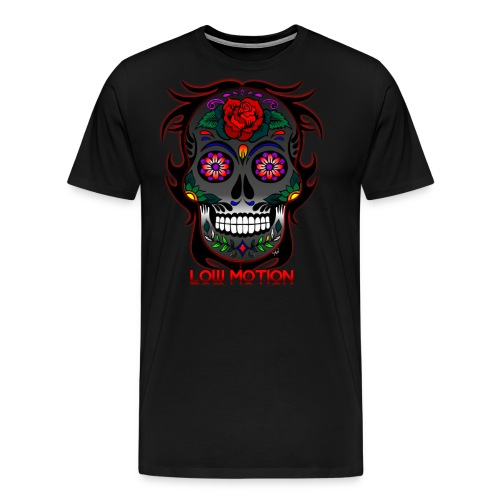 Low Motion Face Gray - Camiseta premium hombre