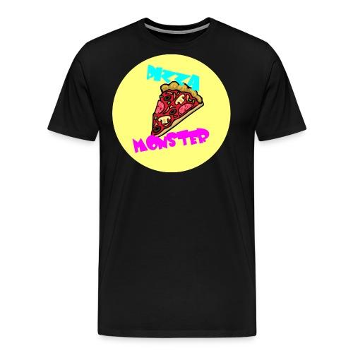 Pizza Monster - Männer Premium T-Shirt