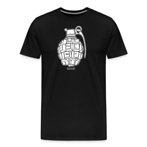Granate - Männer Premium T-Shirt