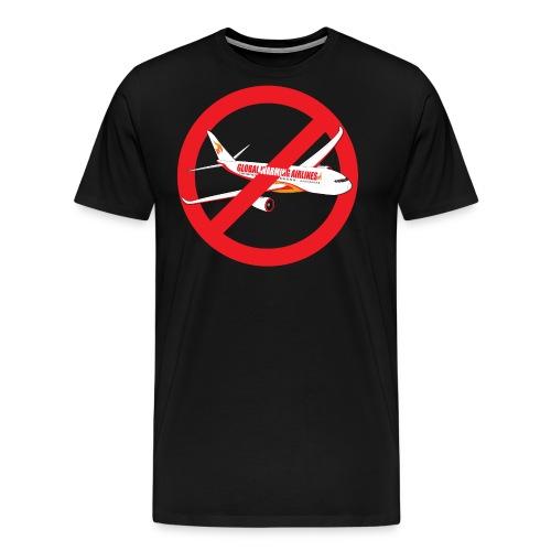 Flygskam - Honte de prendre l'avion - T-shirt Premium Homme