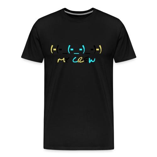 (-(-_(-_-)_-)-) - Men's Premium T-Shirt