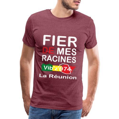 Fier de mes origines 974 - T-shirt Premium Homme
