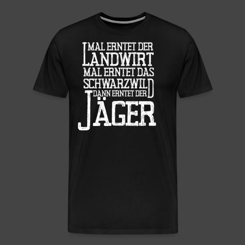 Vollernter - Männer Premium T-Shirt