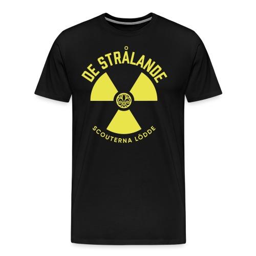 Utmanar Tryck - Premium-T-shirt herr