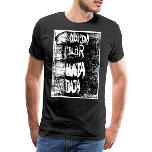 Hata data mörda bilar - Premium-T-shirt herr