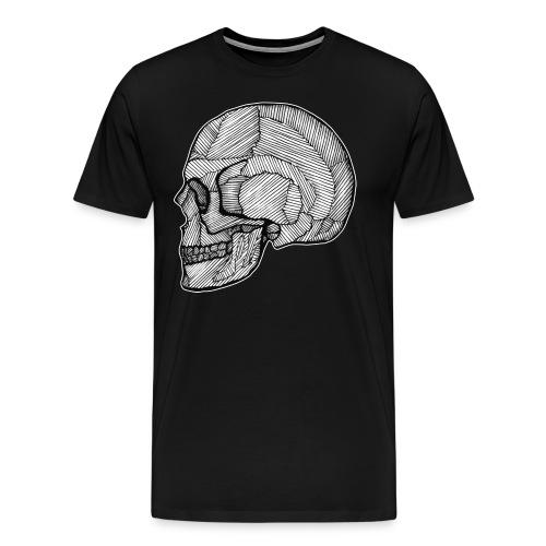 Skull_Lines.png - Männer Premium T-Shirt