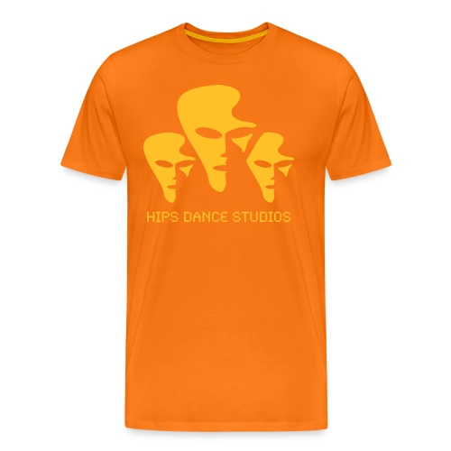 Space_sort_hvid - Herre premium T-shirt