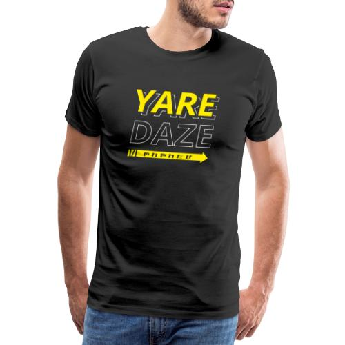 Yare Yare Daze hoodie Jojo's Bizarre Adventure - Mannen Premium T-shirt
