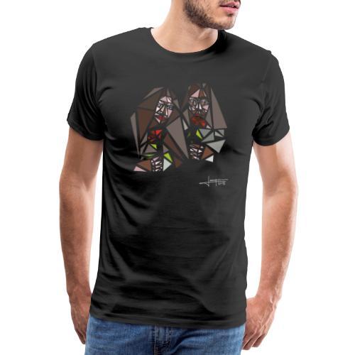 john-yoko.png - Men's Premium T-Shirt