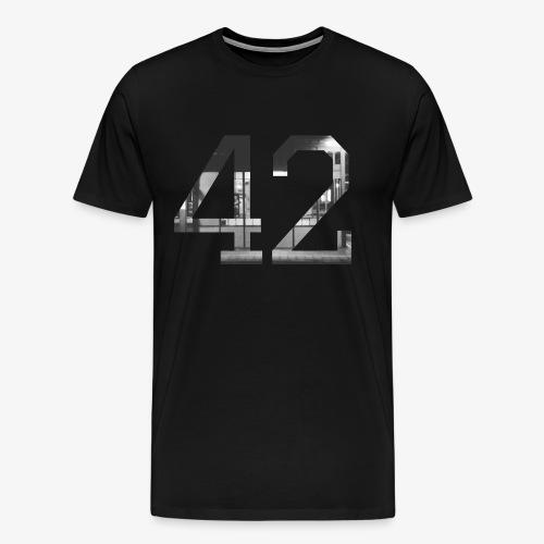 42 - Mannen Premium T-shirt
